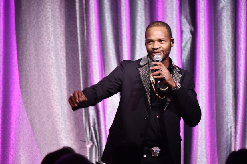 Singer Jaheim performs onstage at the 2017 SESAC Pop Awards on April 13 in New York.  Photo: Theo Wargo/Getty Images for SESAC