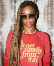 beyonc's exciting braided hairstyles