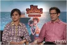 'hotel Transylvania 3' Stars Selena Gomez Andy Samberg