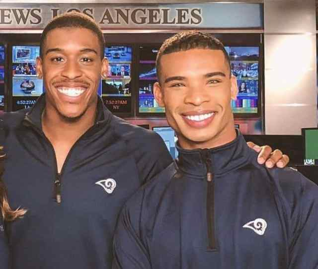 Quinton Peron And Napolean Jinnies Will Soon Make History As The First Male Cheerleaders In The Nfl