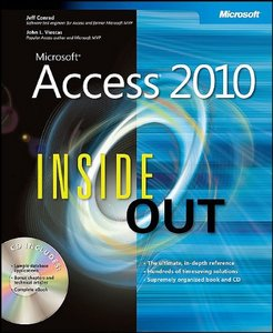 Microsoft Access 2010 Inside Out (chapters from CD included) - Free eBooks Download