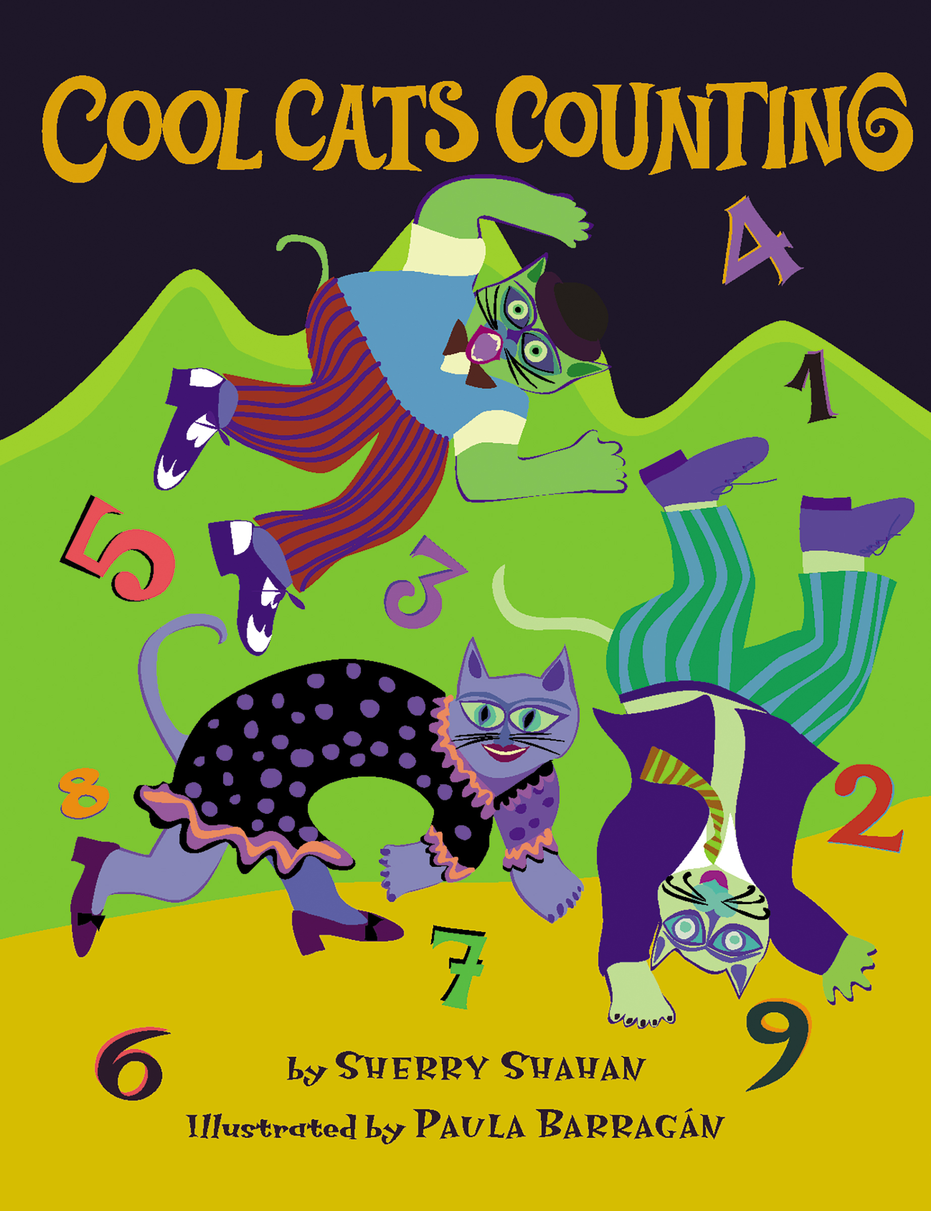 Cool Cats Counting Read Along Or Enhanced Ebook