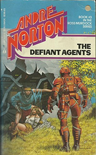 Large book cover: The Defiant Agents