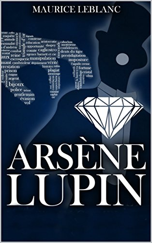 Large book cover: Arsene Lupin