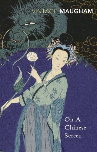 Large book cover: On a Chinese Screen