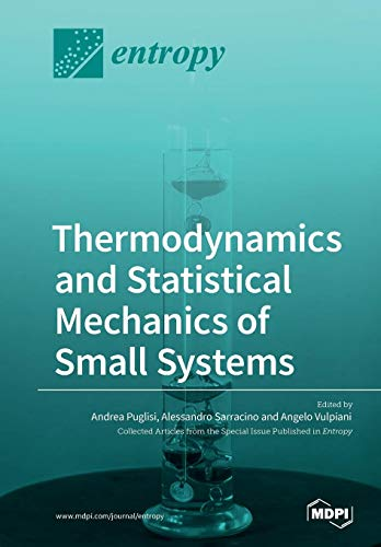 Large book cover: Thermodynamics and Statistical Mechanics of Small Systems