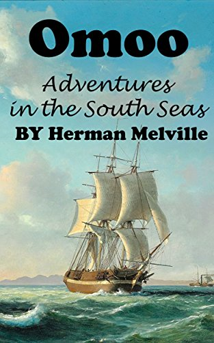 Large book cover: Omoo: Adventures in the South Seas
