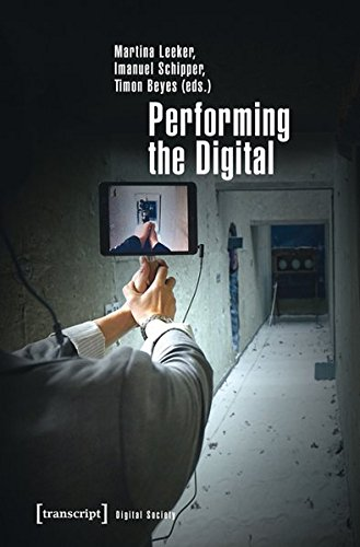Large book cover: Performing the Digital