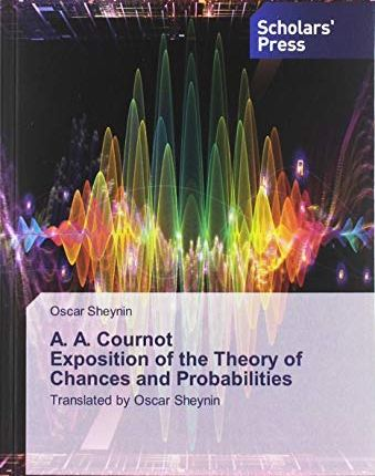Large book cover: Exposition of the Theory of Chances and Probabilities