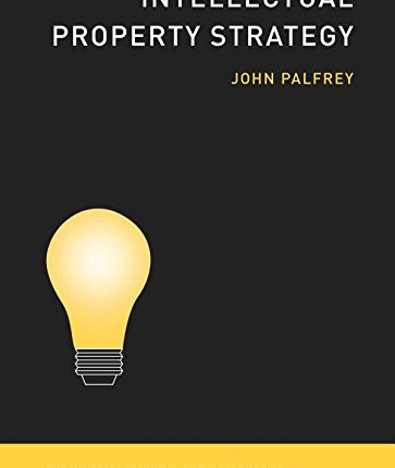 Large book cover: Intellectual Property Strategy