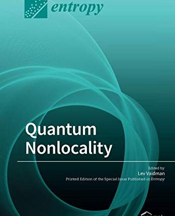 Large book cover: Quantum Nonlocality