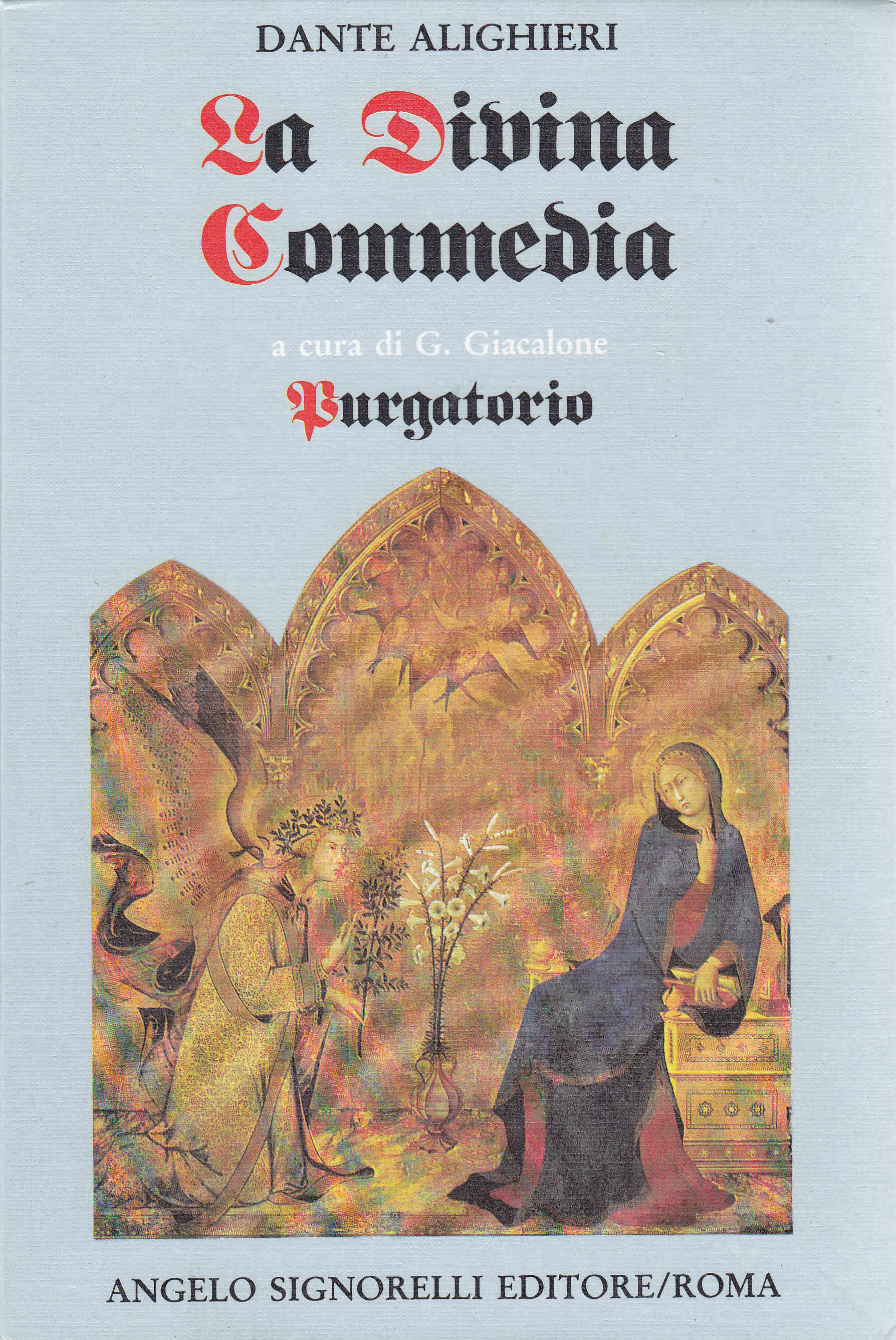 Purgatorio Dantes Book