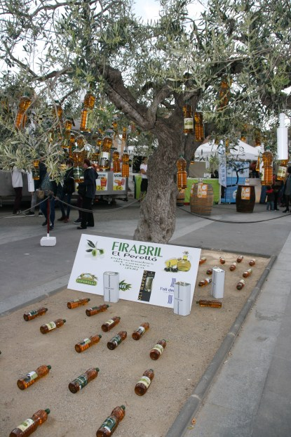 The olive oil tree