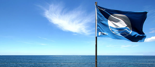 Blue flag beaches in Catalunya