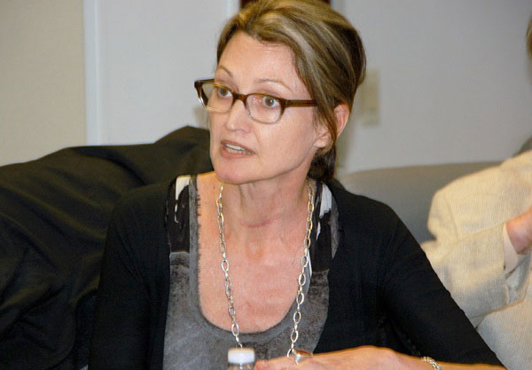 CB1 Youth & Education chair Tricia Joyce