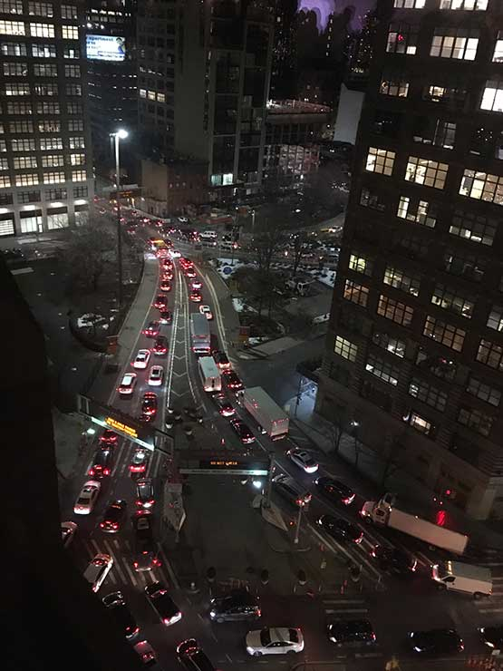 Canal Street Holland Tunnel Traffic
