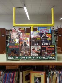 Book Displays to Attract Reluctant Readers