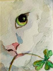 Irish Cat by Delilah Smith