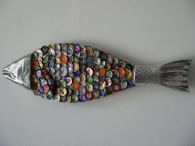 Reusing aluminium bottle caps| ecogreenlove