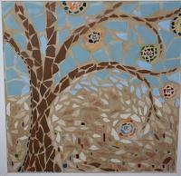 Tree of Light - by Karen Lynn Evans from Mosaics Art Gallery