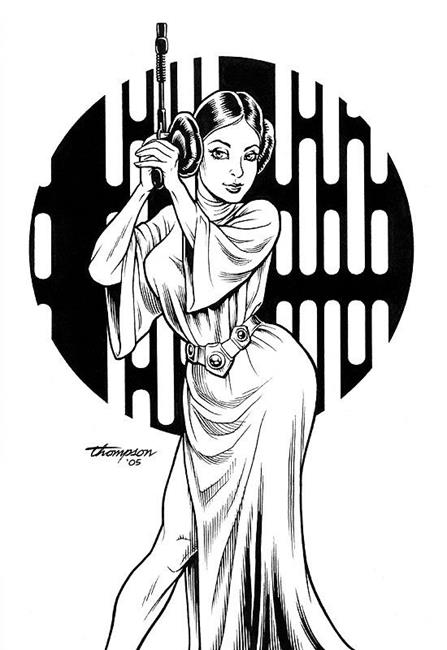 Princess Leia by EBSQ Artist John Thompson