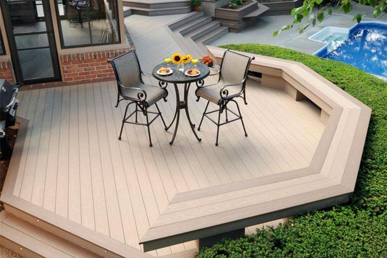 deck installation cost estimated