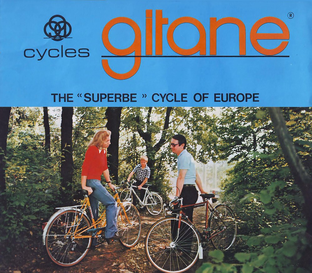 Gitane Family Advertisement