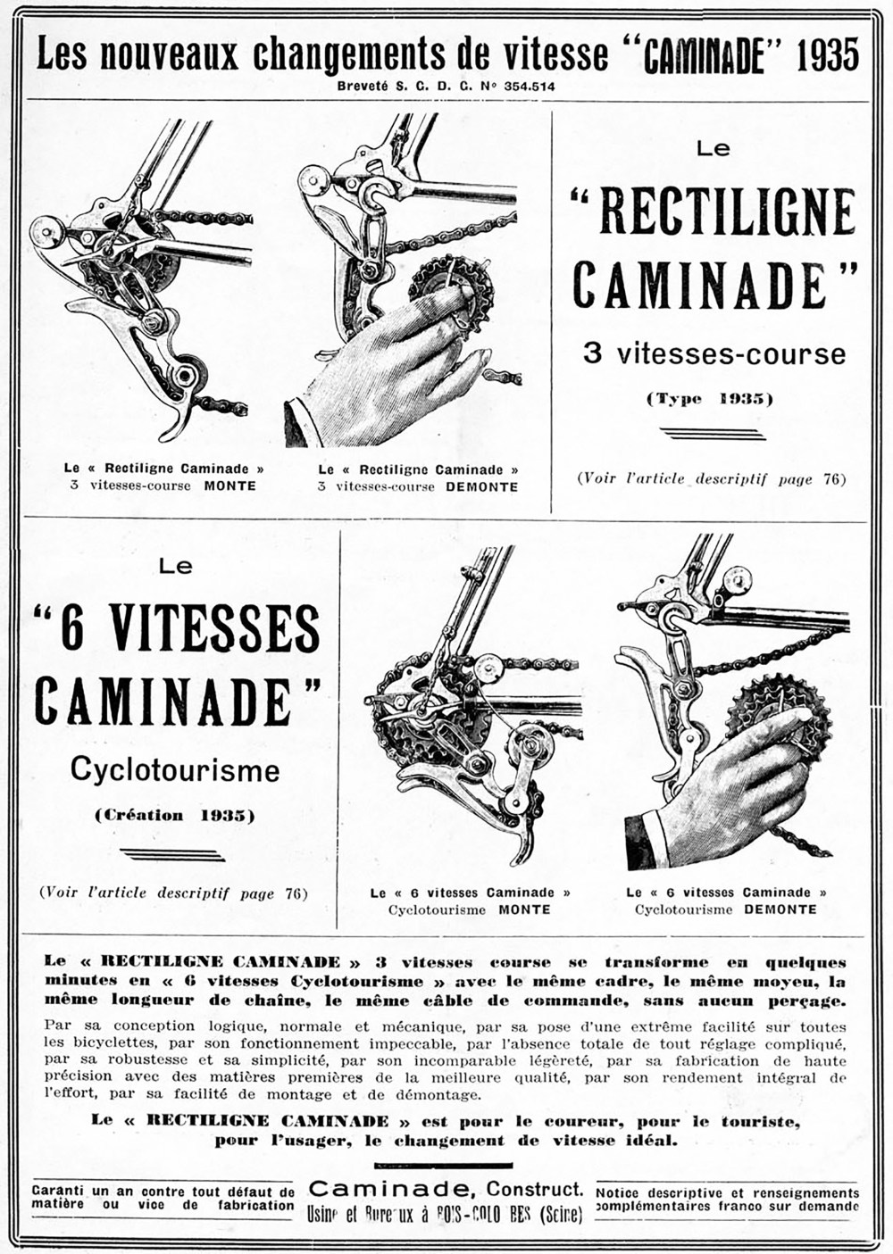 ebykr-caminade-rectiligne-advertisement-feb-1935