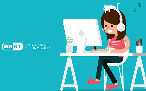 ESET's five tips for a cybersecure home office experience