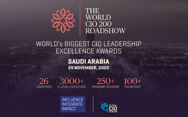 The World CIO 200 Roadshow 2020, coming to Saudi Arabia