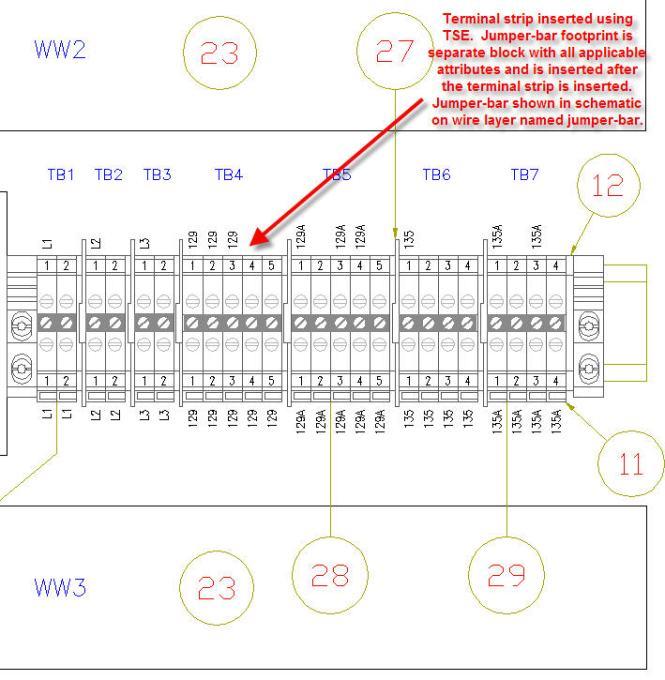 terminal block wiring diagram - wiring diagram, Wiring block