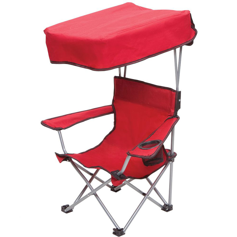 kids chair with canopy rocking glider cushions folding fold up for cool shade and sun protection a drink holder in right armrest child safety lock prevents accidental