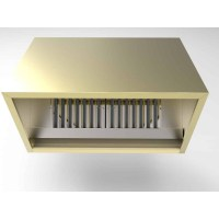 Brass Cooker Hood - Powerful Extraction Hood
