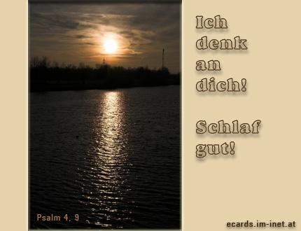 Christliche Ecards  Gute Nacht