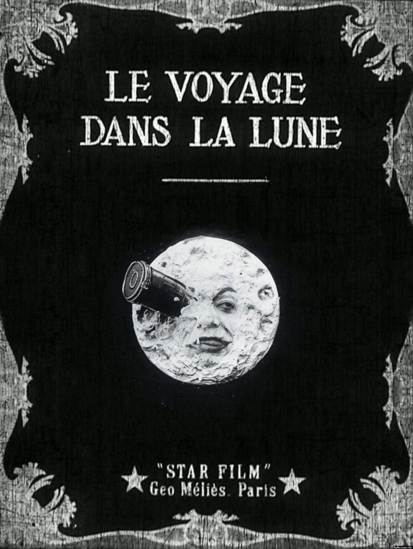 Cartel Francia de 'Viaje a la luna'