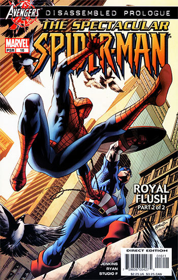 Portada de Spider-Man