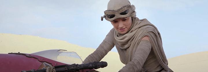 Daisy Ridley 'El despertar de la fuerza'
