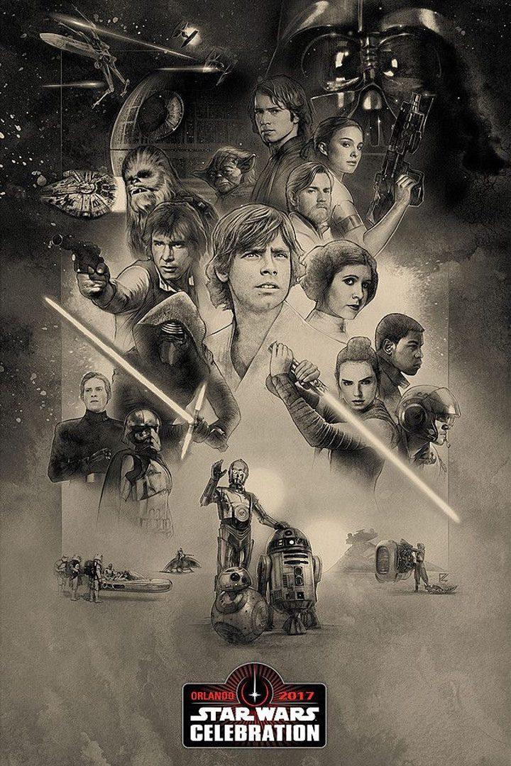 Póster 'Star Wars'