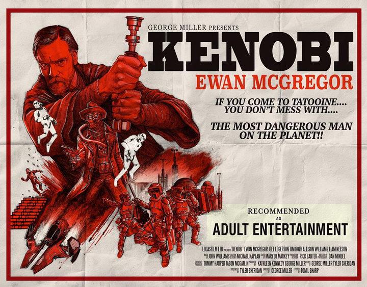 Póster fan 'Kenobi'
