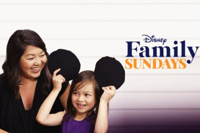 'Sunday in the family with Disney'