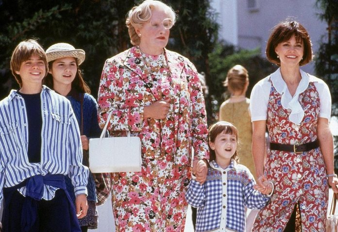 'Mrs. Doubtfire, dad for life' (1993)