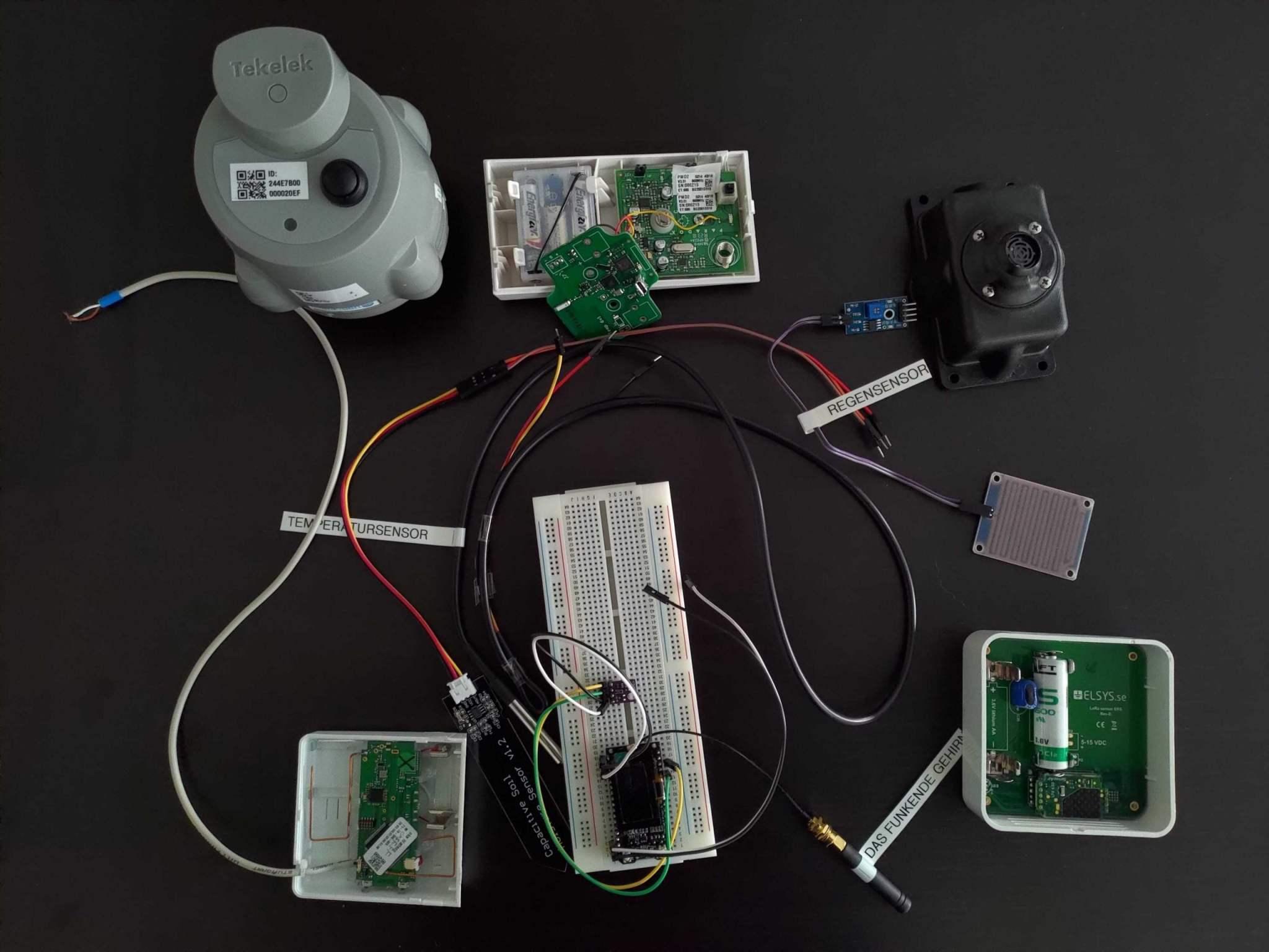 Sensoren bei IoT Anwendungen