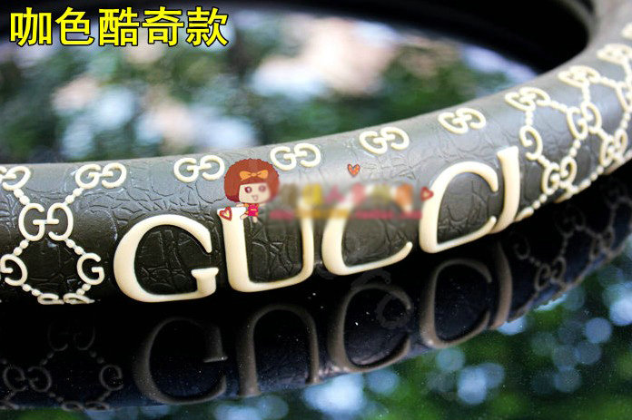 Buy Wholesale Gucci Auto Car Steering Wheel Cover Rubber