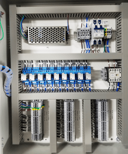 day tank controller integrated to BMS by ecc-automation