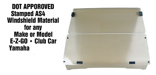 ezgo windshield er diagram many to dot approved fold down