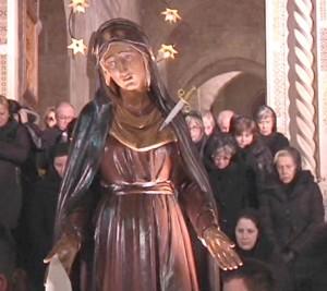 statua della desolata