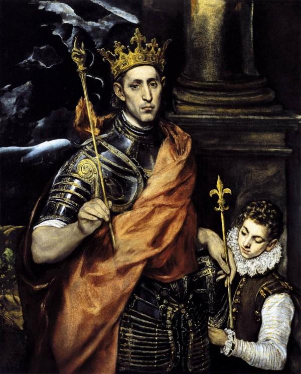 St. Louis IX - by El Greco