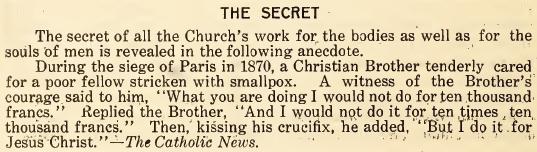 The Secret - July 1916