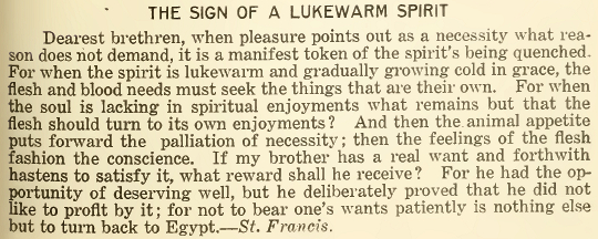 The Sign of a Lukewarm Spirit - July 2018