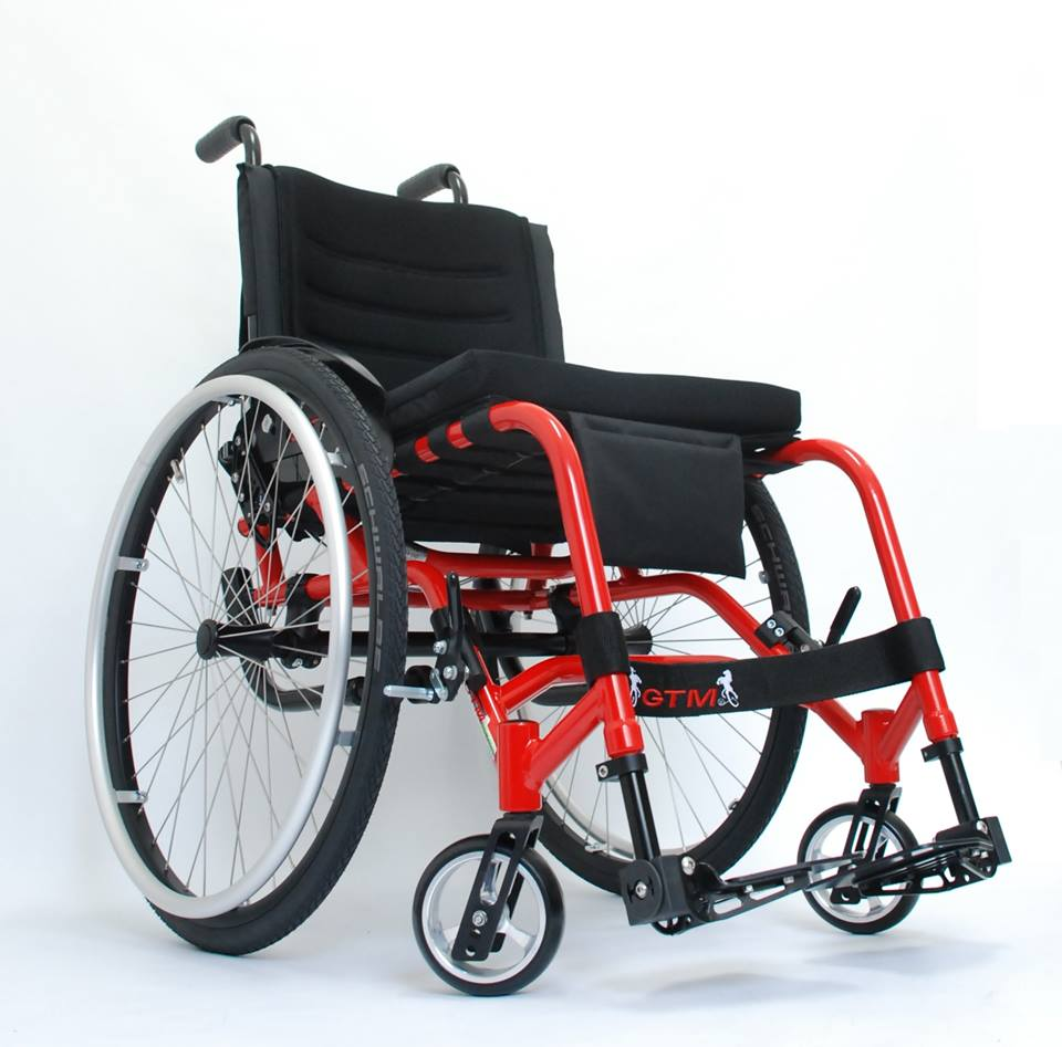 Silla de ruedas Gtm1  ECC Mobility